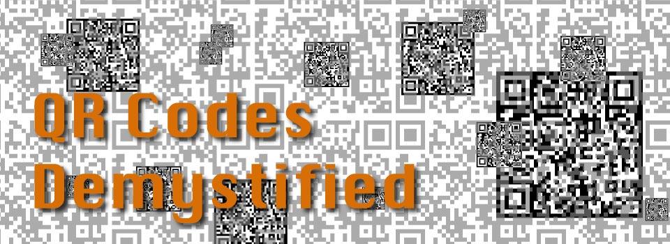 QR Codes Demystified