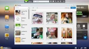 Airdroid: photos app